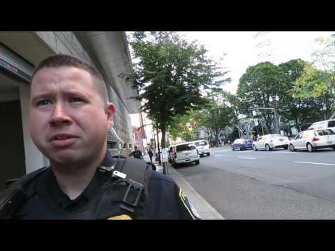 cop watcher challenges homeland security