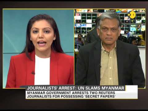 2 Reuters journalists arrested in Myanmar for allegedly possessing secret papers