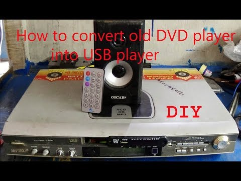 How To Convert old DVD player into USB player (DIY)