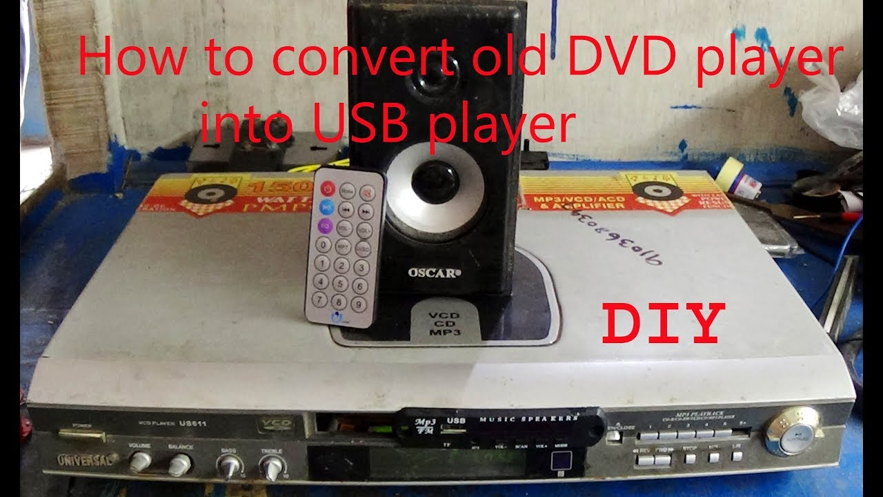 How To Convert Old Dvd Player Into Usb Diy Youtube Home Images Mp3 Circuit Diagram