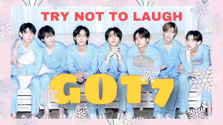 GOT7 TRY NOT TO LAUGH    FUNNY MOMENTS
