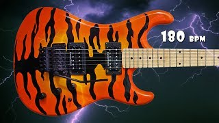 Hard Rock Metal Fast Guitar Backing Track F# Minor