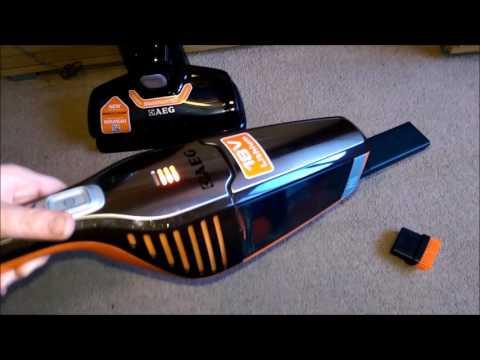 AEG Ergorapido 2 in 1 Cordless Vacuum Cleaner Review