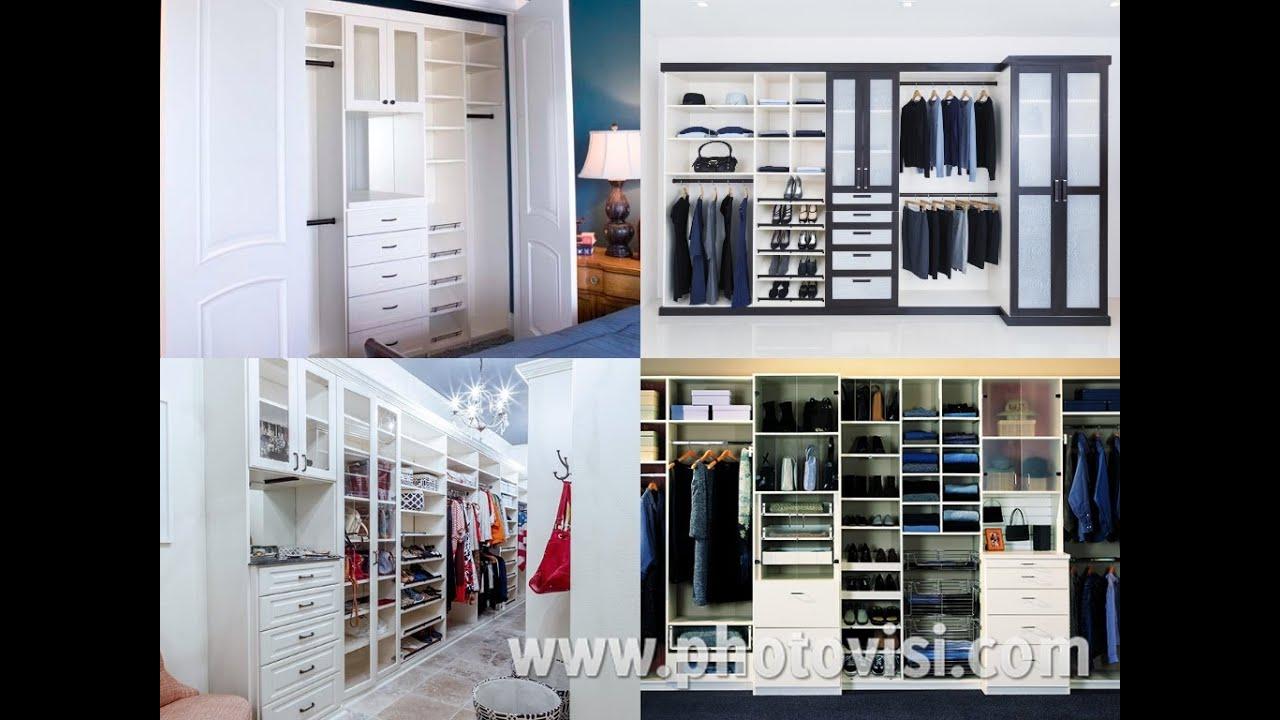 Walk In Closet Design /DIY Organization / School Supplies