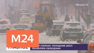 Суточные рекорды по осадкам обновились в Москве в минувшие выходные - Москва 24