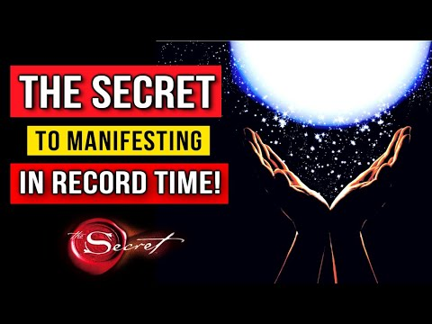The Manifestation Secret You NEED to Know! (Law Of Attraction)