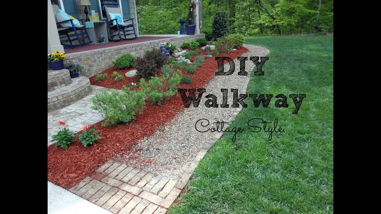 DIY Walkway For Your Home. Front Porch Ideas