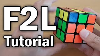 Learn F2L in 6 minutes (Full Intuitive F2L Tutorial)