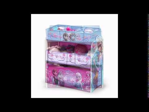 Delta Children Frozen Multi-Bin Toy Organizer - Delta Children Frozen Multi-Bin Toy Organizer - YouTube