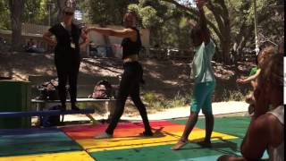 Gymnastics at Cali Camp