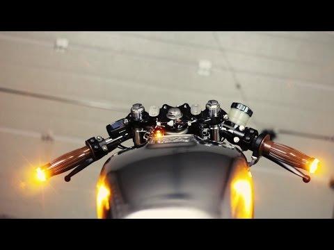 Motogadget Custom Electronics | Honda CB 550 Cafe Racer | 550moto.com