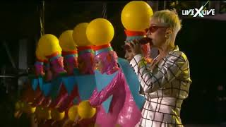 Katy Perry - Act My Age interlude + Teenage Dream (Live at Witness: The Tour from Rock in Rio Lisbo)