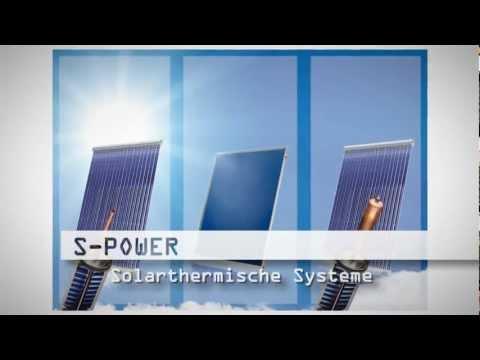 Flach oder Röhrenkollektor Solarthermie Solar Vakuumröhren