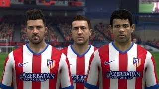 FIFA 15 | Atletico Madrid New Home Kit 14/15 Thumbnail