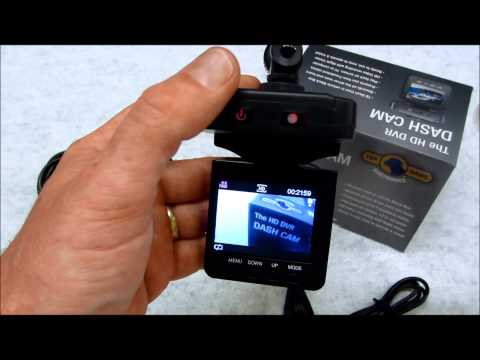 HD 720P Car DVR Video Camera Recorder Review