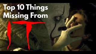 Video Top 10 Things Missing from Stephen King's IT download MP3, 3GP, MP4, WEBM, AVI, FLV Agustus 2018