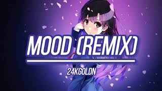 Mood Remix-24kGoldn  (cute voice version)