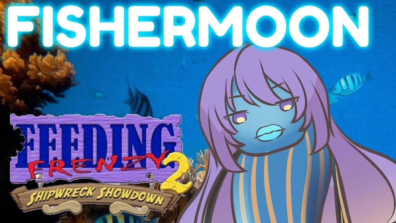 【Feeding Frenzy 2】Be a Fishermoon! Part 3 - ID | EN【holoID】