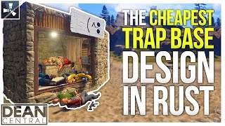 The CHEAPEST BEST Trap Base EVER! (Not Clickbait) | Advanced Rust Building #17