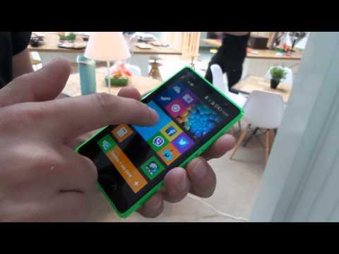 Nokia X2 con Android, toma de contacto