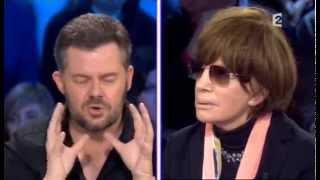 Nadine Trintignant - On n'est pas couché 7 mars 2009 #ONPC