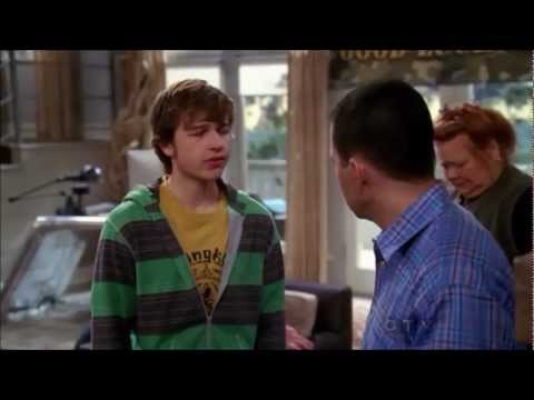 Two and a Half Men  Goode to Jake Joins the Army HD