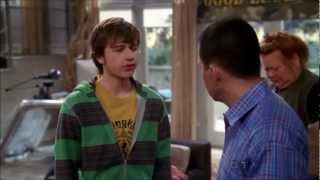 Two and a Half Men - Goodbye to Jake (Joins the Army) [HD]