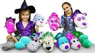 Игрушки ВЫВЕРНУШКИ для малышей — Видео для детей — Блеск и волшебство!
