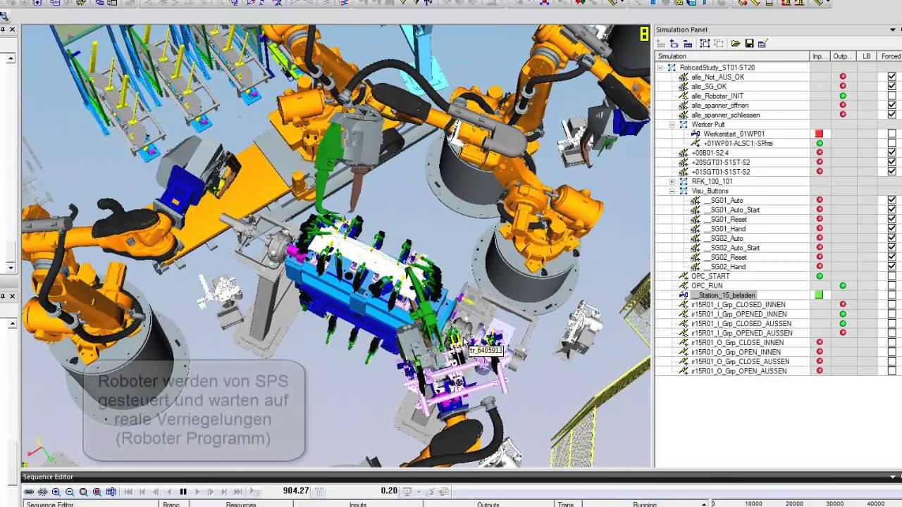 Резултат с изображение за tecnomatix robot expert