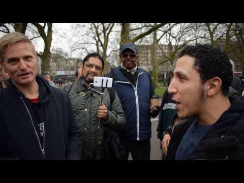 P1 - Be Sincere! Shamsi vs Christian | Speakers Corner | Hyde Park