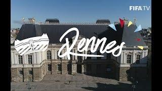 Rennes ville-hôte de la Coupe du monde féminine de football