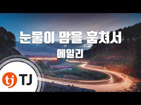 Tears Stole The Heart 눈물이 맘을 훔쳐서_Aliee 에일리_TJ노래방 (Karaoke/lyrics/romanization/KOREAN)