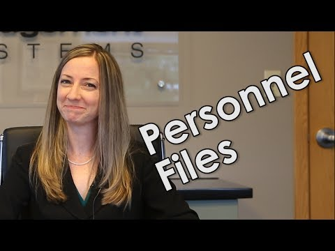 Personnel Files: Dos and Don'ts