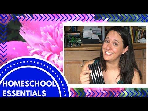 How to Homeschool - My Essentials