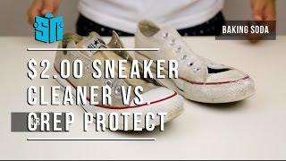 Crep Protect vs $2.00 Homemade Sneaker Cleaner
