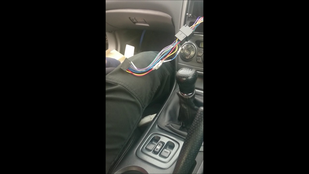 small resolution of how to fit aftermarket stereo system toyota celica 7th gen