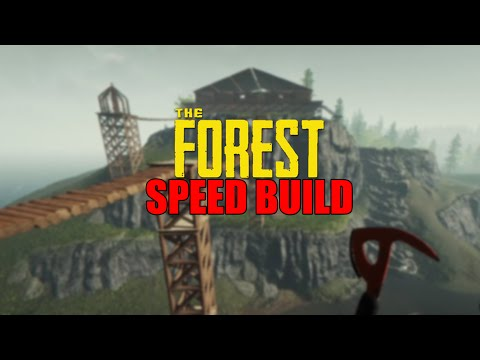 The Forest | SPEED BUILD (ModAPI) | Latonder
