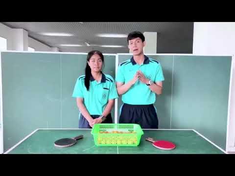 สื่อการสอนวิชาพลศึกษาเรื่องทักษะการสอนเทเบิลเทนนิส