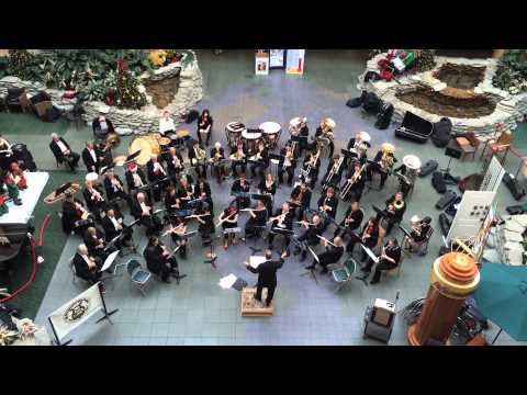 Listen to The Flint Symphonic Wind Ensemble ring in the holidays