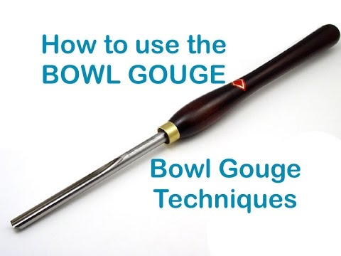 Bowl Gouge Basics 101 ~ Rough Turning a Bowl