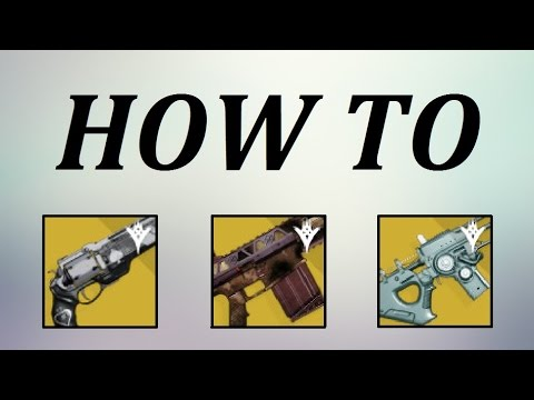 Destiny - How To Get Ace of Spades, Fabian Strategy, and/or Tlaloc!