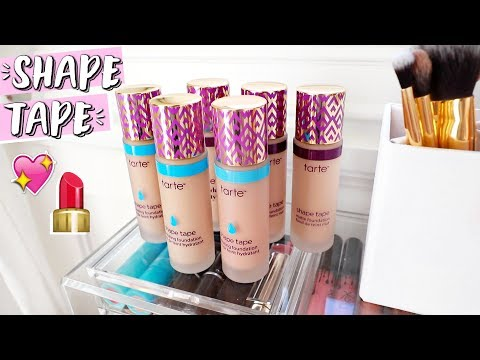 Download Youtube: Tarte Shape Tape Foundation First Impressions / Review!!