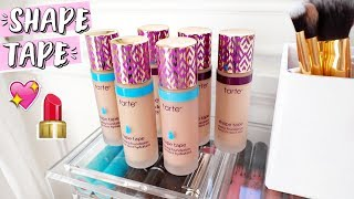 Tarte Shape Tape Foundation First Impressions / Review!!