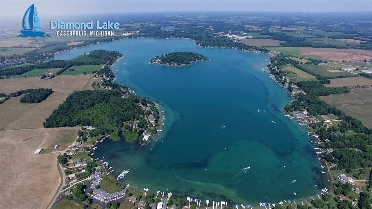 Diamond Lake Aerial Footage Compilation 2016 Youtube