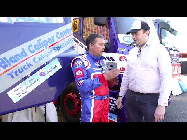 Trialling Shell GTL Fuel in British Truck Racing