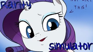MLP Comic Dub: Rarity Simulator (Comedy)