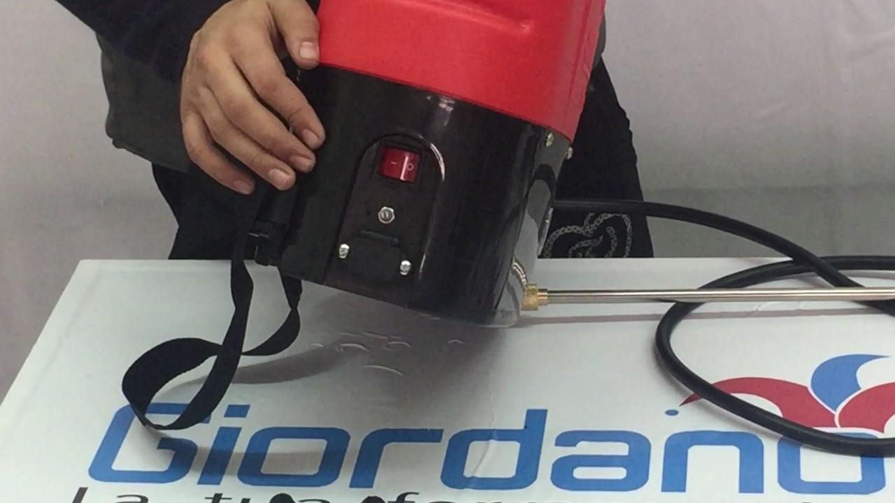 Pompa a batteria Litio STOCKER a Zaino 10 lt   Irroratrice a spalla trattamenti