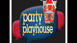 Party playhouse with Jackson Blue