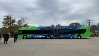 Launch of New Electric Buses in St. Louis Region