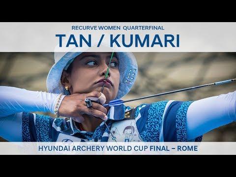 Tan Ya-Ting v Deepika Kumari – Recurve Women's Quarterfinal | Rome 2017